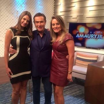 """Programa """"Amaury Jr."""" – Rede Tv"""